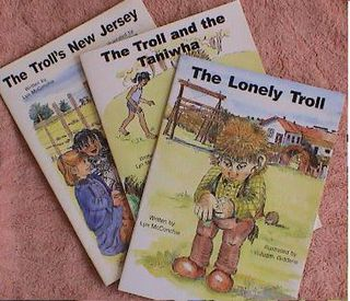 Set of four Troll Books