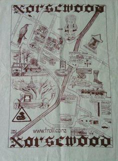 Norsewood Tea Towel