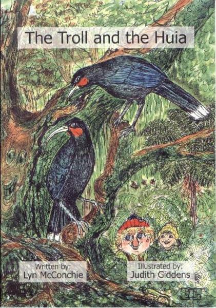 Children's book about the Huia bird